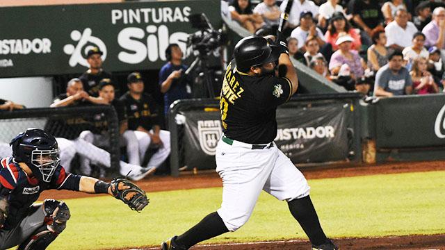 Beisbol, LMB: Grand Slam de Juárez le da el triunfo a Leones