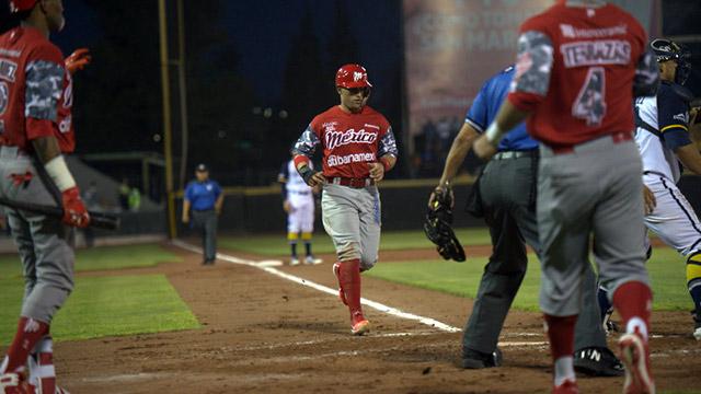 Beisbol, LMB: Diablos ganó duelo de batazos en Aguascalientes