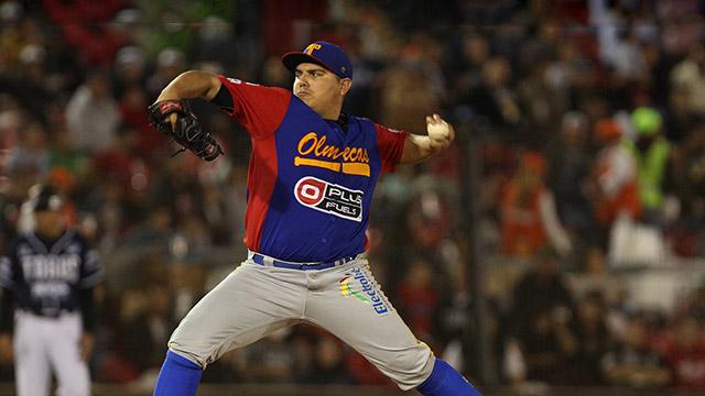 Beisbol, LMB: Con buen pitcheo, Olmecas ganó el segundo de la serie