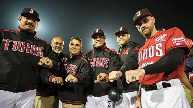 Beisbol, LMB: Reciben Toros anillos de Campeones