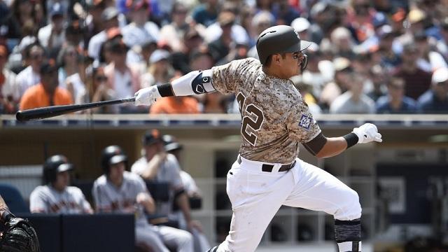 Beisbol, MLB: Paciencia en el plato ha sido clave en el despertar de Christian Villanueva