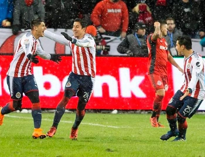 Fútbol: Chivas saca ventaja en la ida de la Final de Concachampions