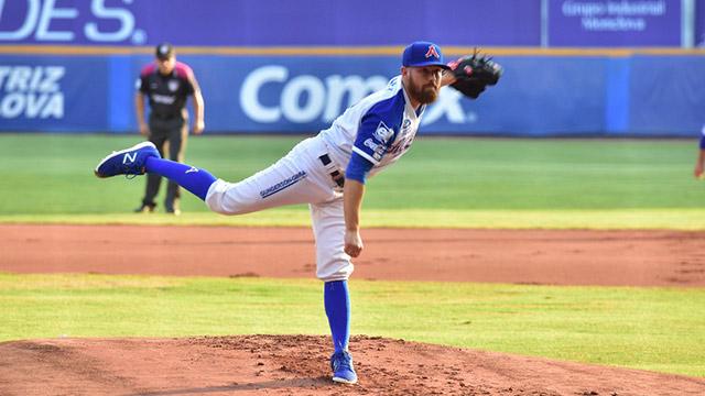 """Beisbol, LMB: El """"Alcalde"""" Josh Lowey doblegó a Generales"""