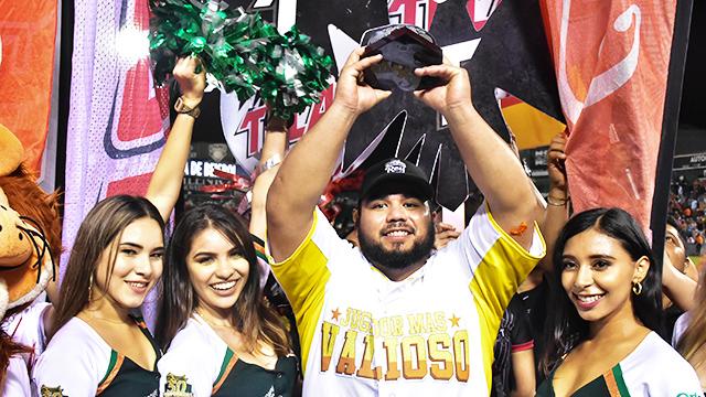 Beisbol, LMB: Luis Juárez, MVP de la Serie del Rey