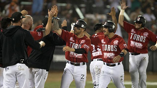 Beisbol, LMB: Rally en la cuarta sella triunfo de Toros para tomar ventaja