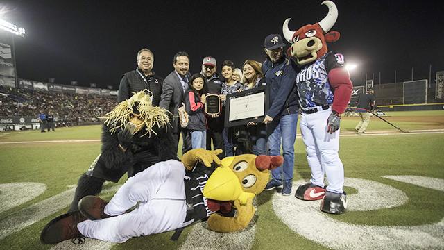Beisbol, LMB: Toros de Tijuana recibió reconocimientos en el segundo de la serie
