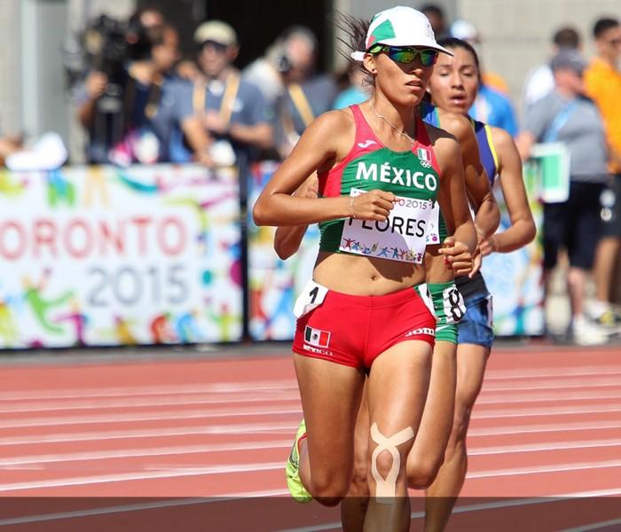 JCC, Atletismo: Brenda Flores se queda con el bronce en los 5,000 mil metros planos