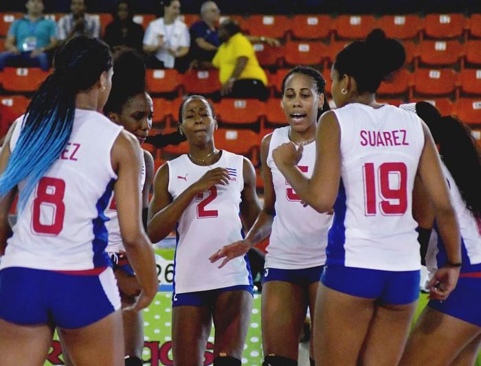 Norceca: Cuba deja sin posibilidades a Trinidad y Tobago