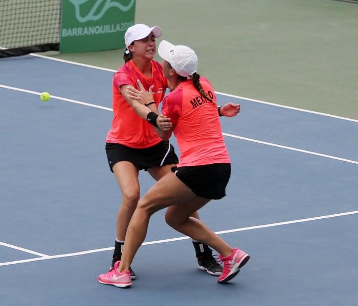 JCC, Tenis: México consigue oro en dobles femenil