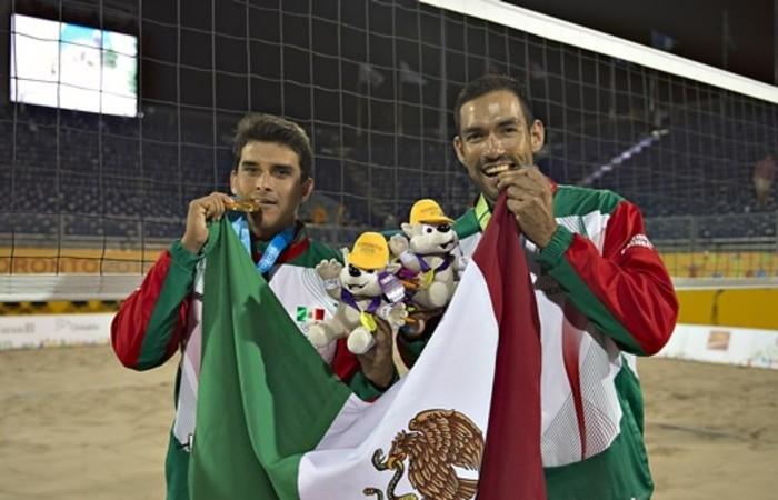 JCC, Voleibol: Juan Virgen y Rodolfo Ontiveros están en la final de voleibol de playa