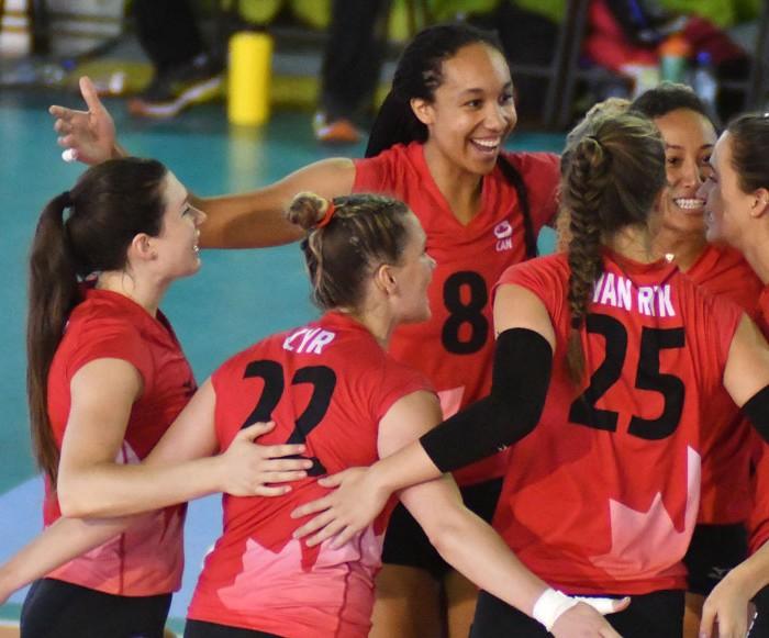 Voleibol, Copa Panamericana: Canadá sigue invicto