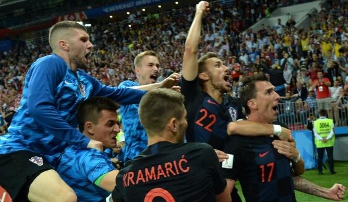 Fútbol: Croacia jugará su primer final mundialista, venció a Inglaterra