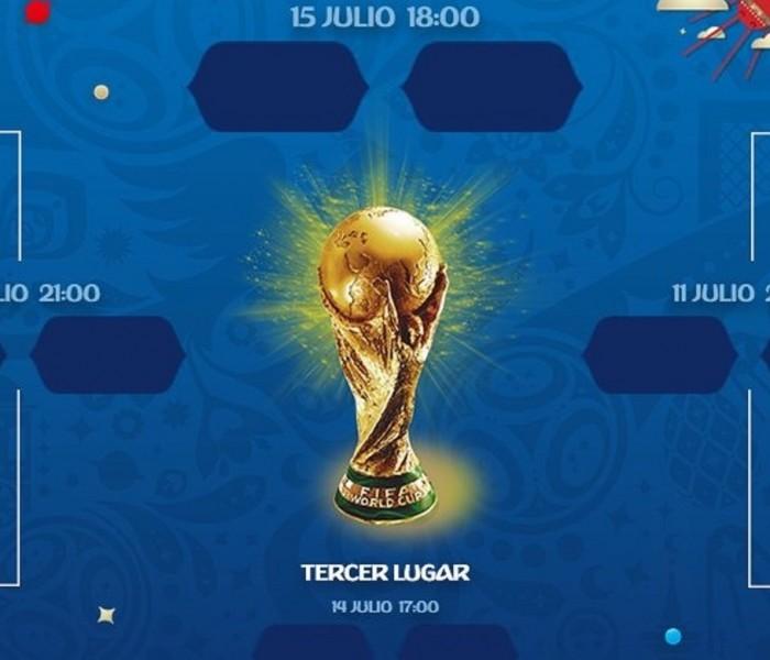 Fútbol: Los Cuartos de Final en el Mundial de Rusia quedaron definidos