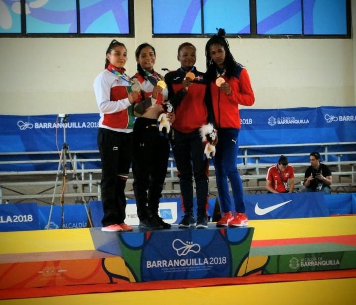 JCC, Judo: Edna Carillo consigue oro