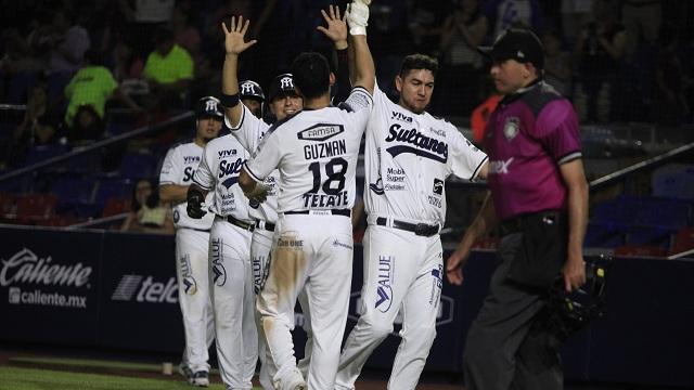 Beisbol, LMB: Sultanes vino de atrás y le ganó el primero de la serie a Guerreros