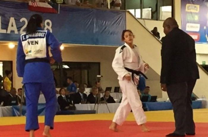 JCC, Judo: Leslie Villareal consigue plata en sus primeros Centroamericanos