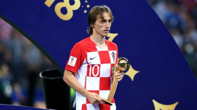 Fútbol: Modric se llevó el premio al mejor jugador del Mundial