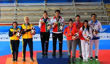 Juegos Centroamericanos 2018: Daniela Rodríguez y Vaslav Ayala conquistan el oro en Poomsae
