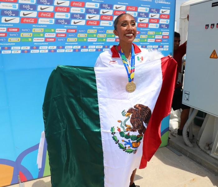 Juegos Centroamericanos 2018: Joana Jiménez consigue el primer oro para natación artística