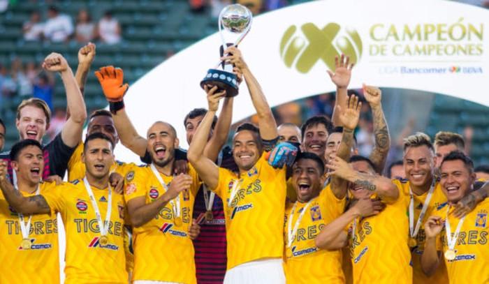 Fútbol: Tigres sigue dominando, vuelve a ganar el Campeón de Campeones