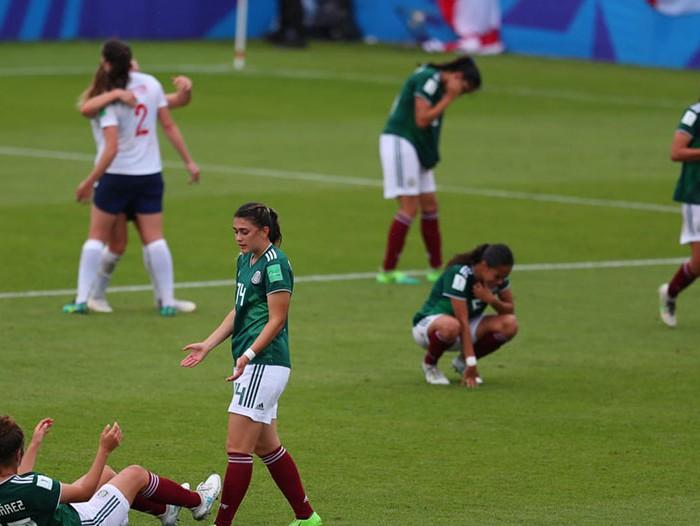 Fútbol: México es goleado y eliminado por Inglaterra en Mundial Femenil Sub 20