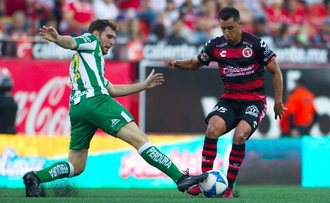 Fútbol: Tijuana rescató un punto en su casa ante León con 10 elementos