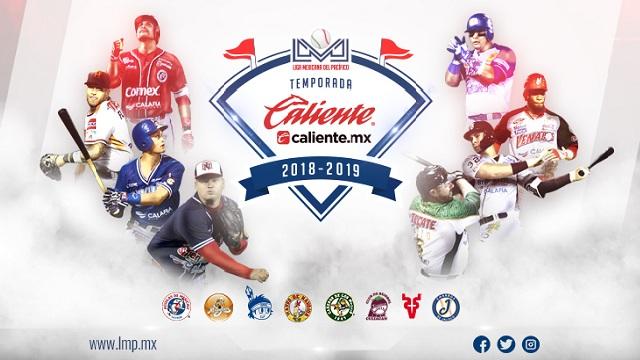 Beisbol, LMP: Listo el inicio de la Temporada Caliente.mx 2018-2019