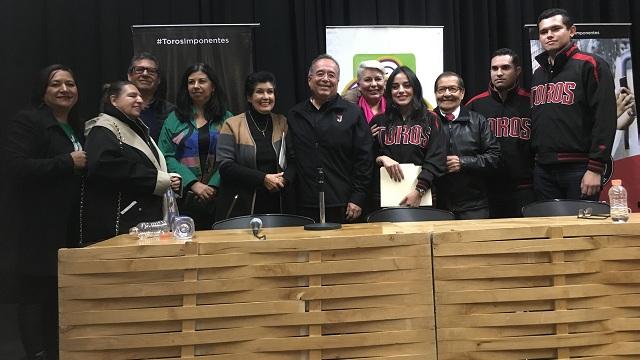 """Beisbol, LMB: Toros exponen """"Historia de un campeón"""" ante comunicadores de BC"""