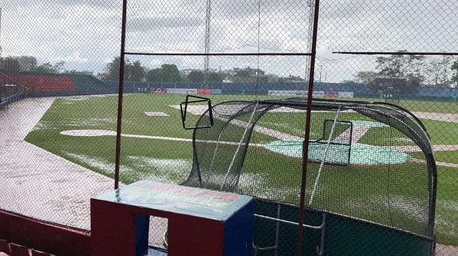 Beisbol, LCBP: La lluvia evita que se juegue el tercero entre Leones y Toros