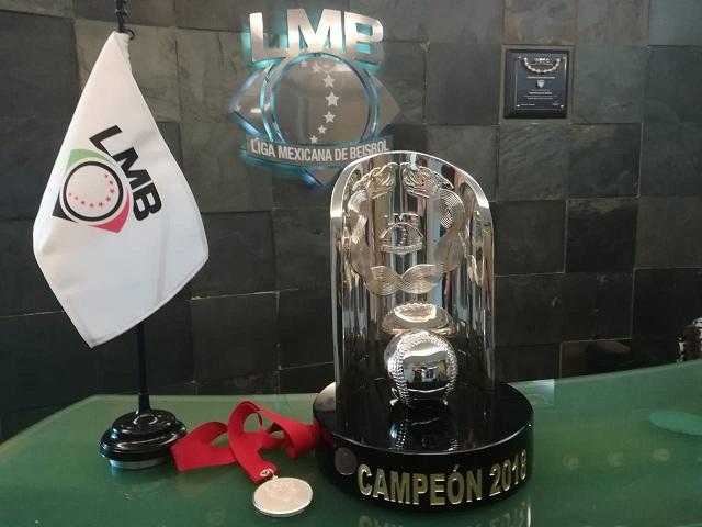 Beisbol, LMB: Será una joya el trofeo para los campeones de la Liga Rookie 2018