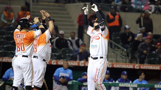 Beisbol, LMP: Dustin Geiger brilló con el bat y Naranjeros le ganó el primero a Yaquis