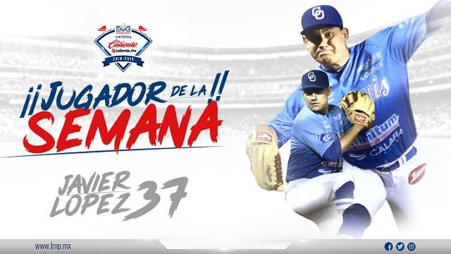 Beisbol, LMP: Javier Arturo López, el Jugador de La Semana LMP