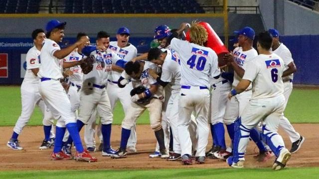 Beisbol, LCBP: Charlie Mirabal le da el triunfo 16 a Caimanes con hit de oro