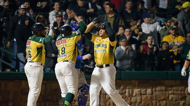 Beisbol, LMP: Cañeros venció a Yaquis a base de poder