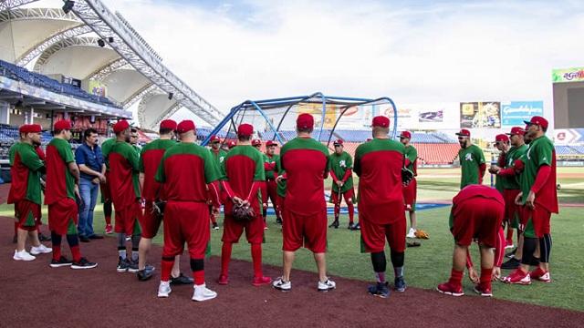 Beisbol, LMP: México tuvo su primera práctica de cara a la Serie del Caribe 2019