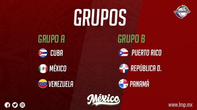 Beisbol, LMP: México ya tiene rivales de grupo en la Serie del Caribe 2019