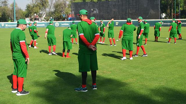 Beisbol, LMB: Francisco Haro, novedad en la práctica de México