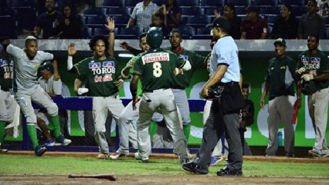 Beisbol, LCBP: JIménez y Marval encabezaron el triunfo de Toros en el primero de la Serie Final