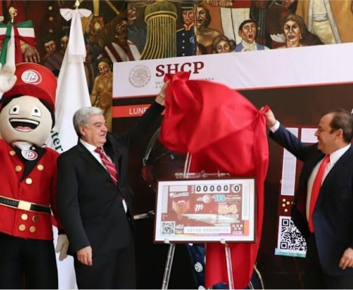 Bésibol, LMB: Lotería Nacional desvela billete conmemorativo a estadio de beisbol