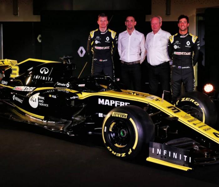 Automovilismo, Fórmula 1: Renault presenta su RS19 de cara a la siguiente campaña de la F1