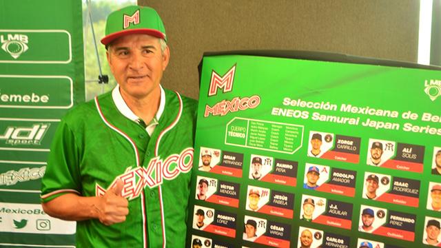 Beisbol, LMB: Roster de México para la ENEOS Samurai Japan Series