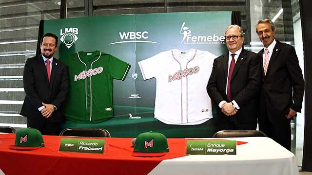 Beisbol, LMB: Presentaron los uniformes de la Selección Mexicana para 2019