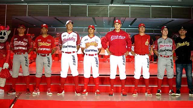 Beisbol, LMB: Diablos Rojos del México presentó sus uniformes para el 2019