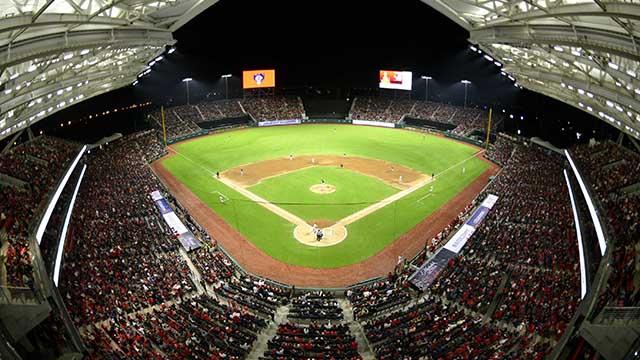 Beisbol, LMB: Gran ambiente en la inauguración del Estadio Alfredo Harp Helú
