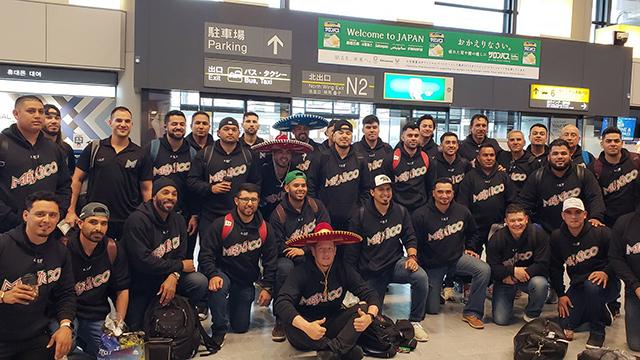 Beisbol, LMB: La Selección Mexicana llegó a Japón para la Samurai Japan Series 2019