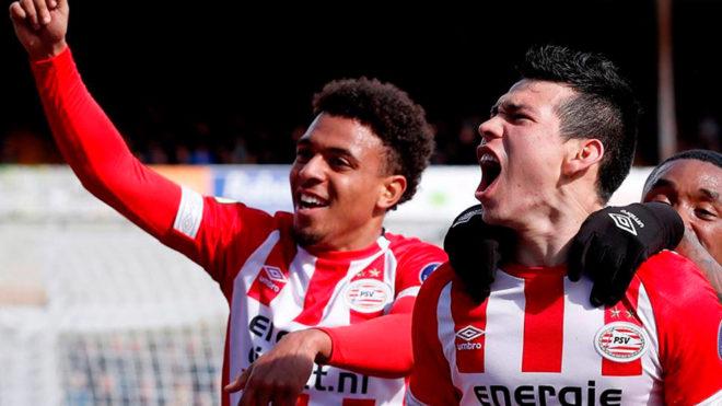 Fútbol: Lozano anota el gol del triunfo para el PSV contra el Venlo