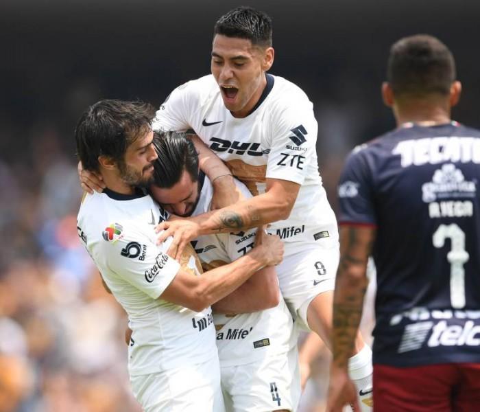 Fútbol: Pumas mantiene hegemonía sobre Chivas en CU