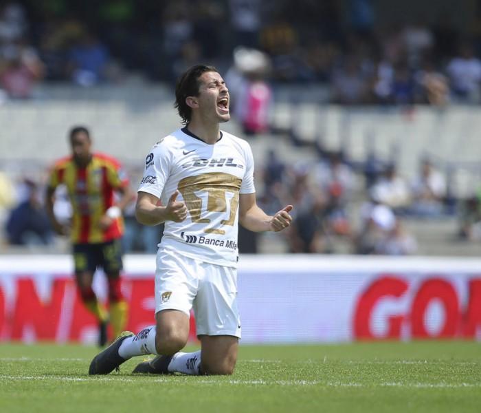 Fútbol: Pumas reaccionó y alcanzó a igualar con Monarcas