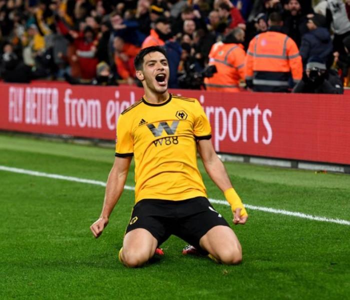 Fútbol: Raúl Jiménez fue figura y ayudó a los Wolves a eliminar al United