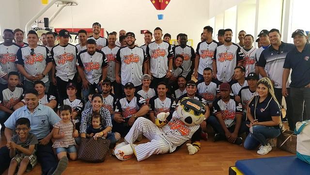 Beisbol, LMB: Tigres visitó el CRIT y está listo para el juego con causa